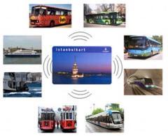 Istanbulkart for public transportation in Istanbul